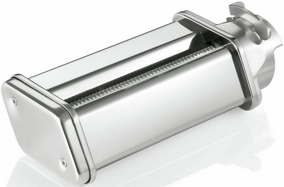 Bosch Spaghetti-Vorsatz MUZ5NV3: Zubehör für Bosch Küchenmaschine MUM5… aus 'The Taste' in metallic
