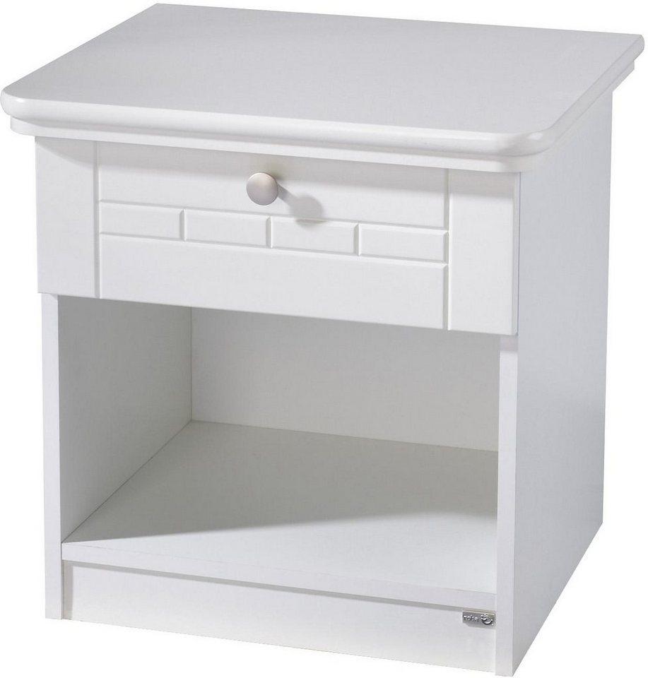 Roba Nachttisch »Florenz« | Schlafzimmer > Nachttische | Weiß | Holzwerkstoff | Roba®