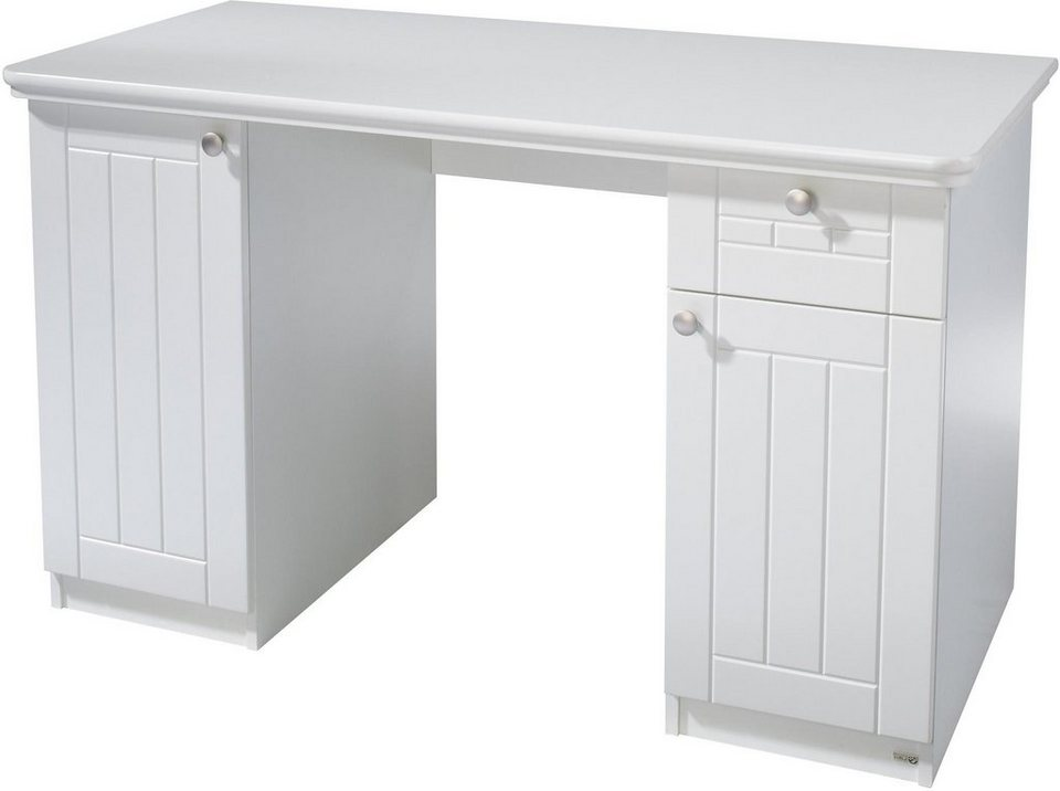 roba schreibtisch florenz breite 125 cm kaufen otto. Black Bedroom Furniture Sets. Home Design Ideas