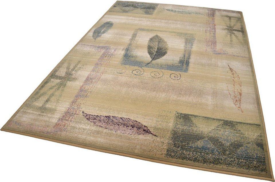 Orientteppich »Gabiro 003«, Theko, rechteckig, Höhe 10 mm in beige