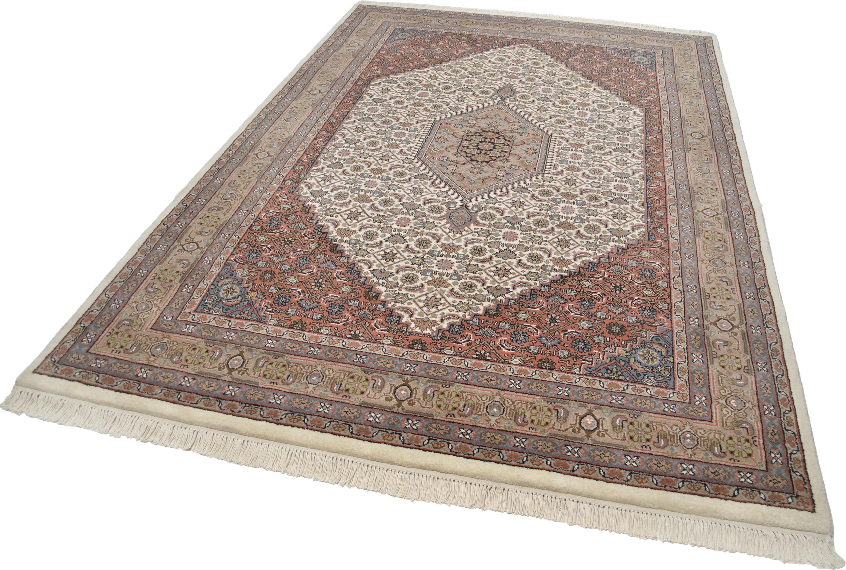 Orientteppich »Benares Bidjar«, Theko Exklusiv, rechteckig, Höhe 12 mm, ca. 155.000 Knoten/m² | Heimtextilien > Teppiche > Orientteppiche | Theko Exklusiv