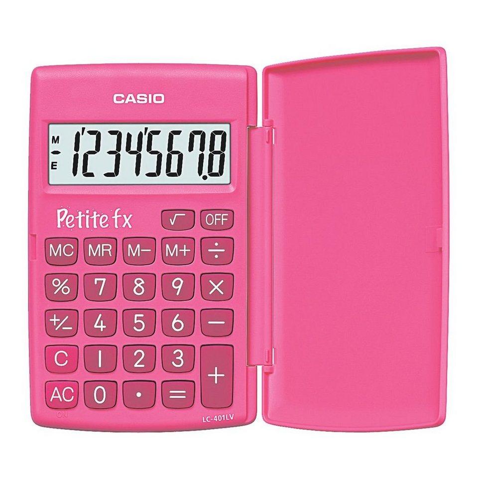 CASIO Taschenrechner »Petite FX« in pink