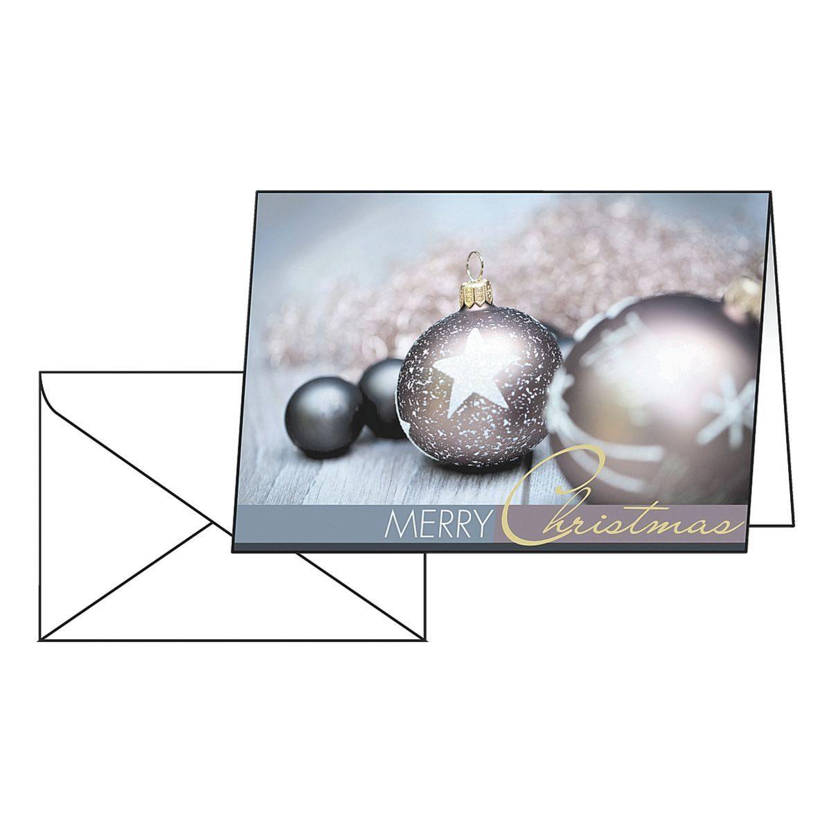Sigel Weihnachtskarten »Exquisite« mit Umschlägen
