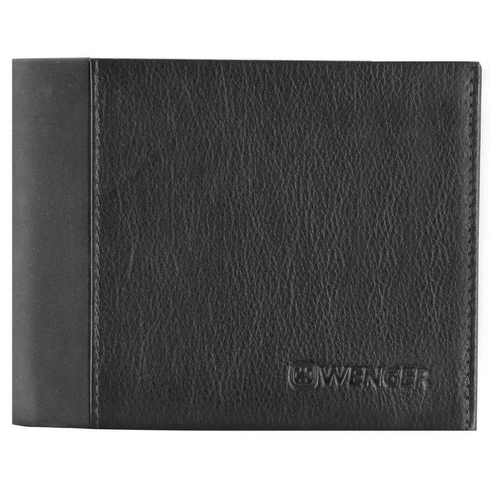 Wenger Nexus Kreditkartenetui Leder 12 cm in schwarz