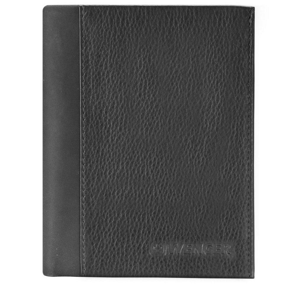 Wenger Nexus Geldbörse Leder 9,5 cm in schwarz