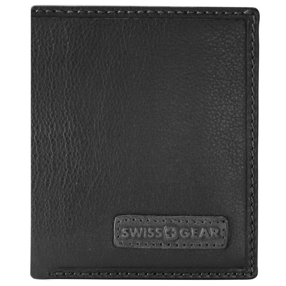 Wenger Swiss Gear Spot Kreditkartenetui Leder 8,5 cm in schwarz