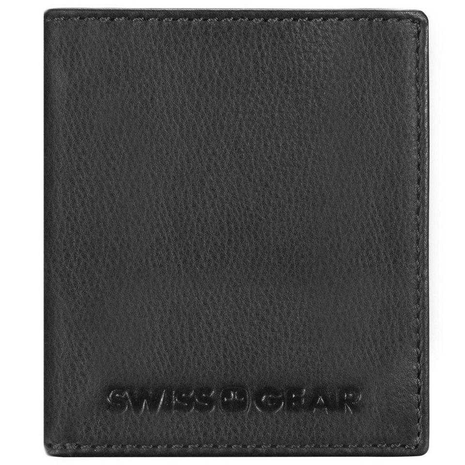 Wenger Swiss Gear Expression Geldbörse Leder 9,5 cm in schwarz