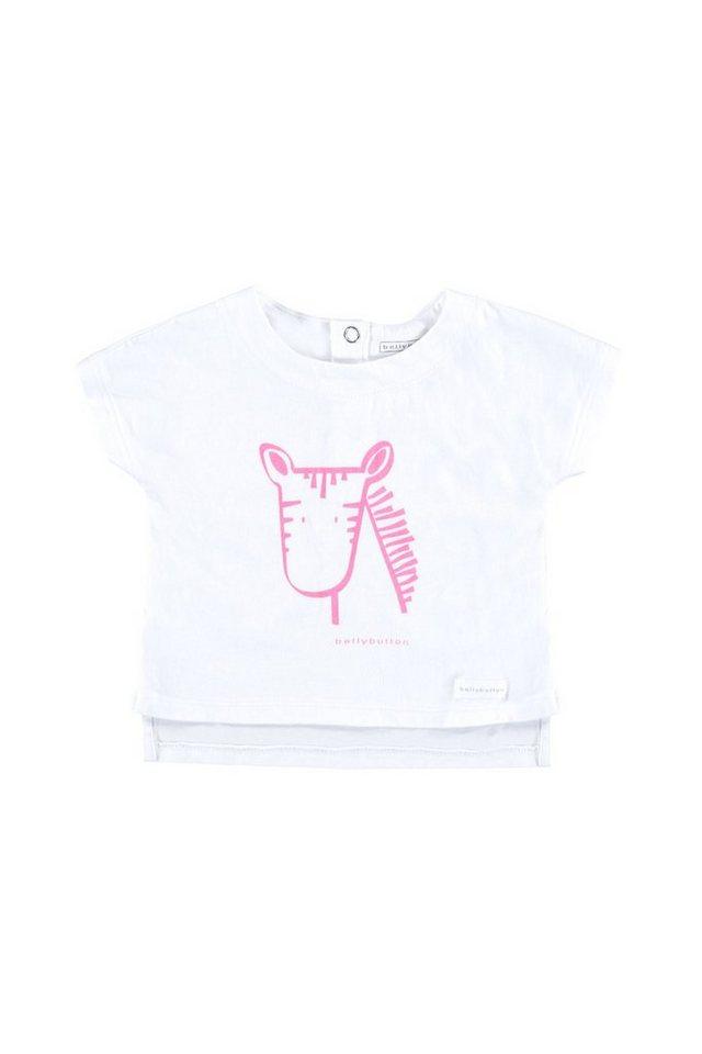 BELLYBUTTON Baby T-Shirt mit Print in bright white