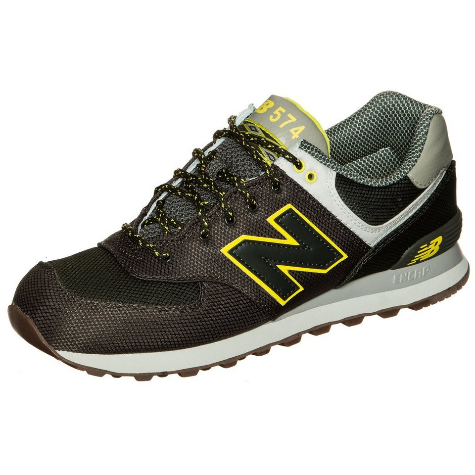 NEW BALANCE ML574-EXB-D Sneaker in grün / grau / gelb