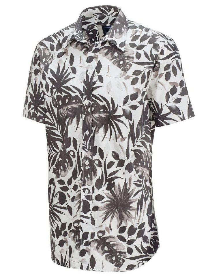 Babista Hemd in weiß-schwarz