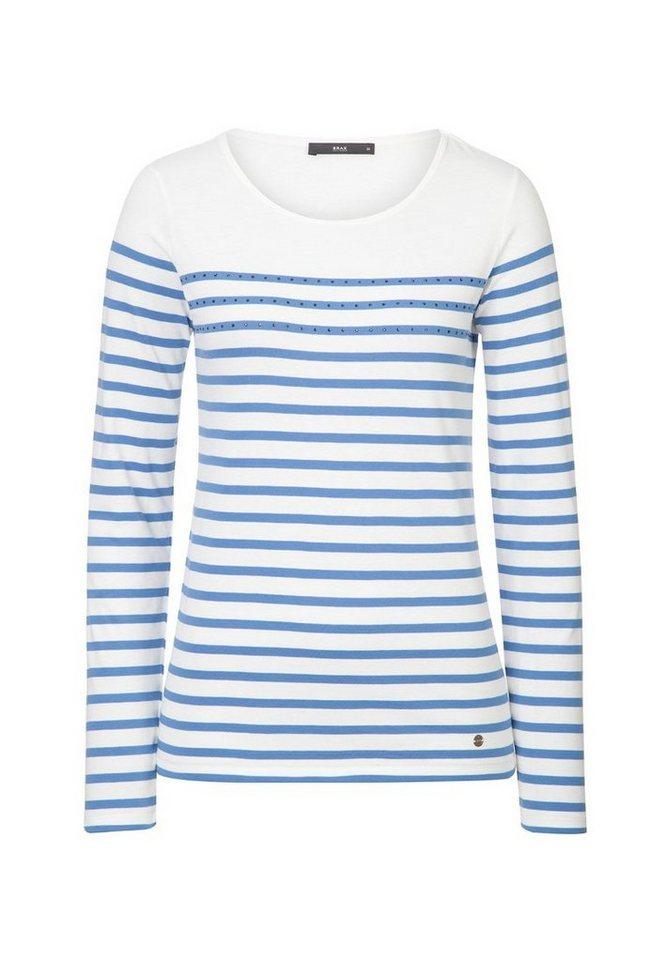 BRAX T-Shirt »CARINA« in BLUE