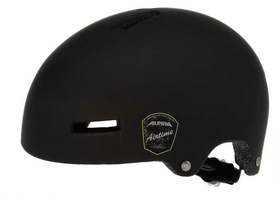 Alpina Fahrradhelm »Airtime Helm« in schwarz