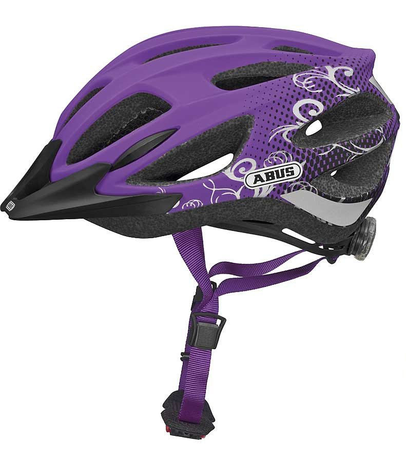 ABUS Fahrradhelm »New Gambit Helm« in lila
