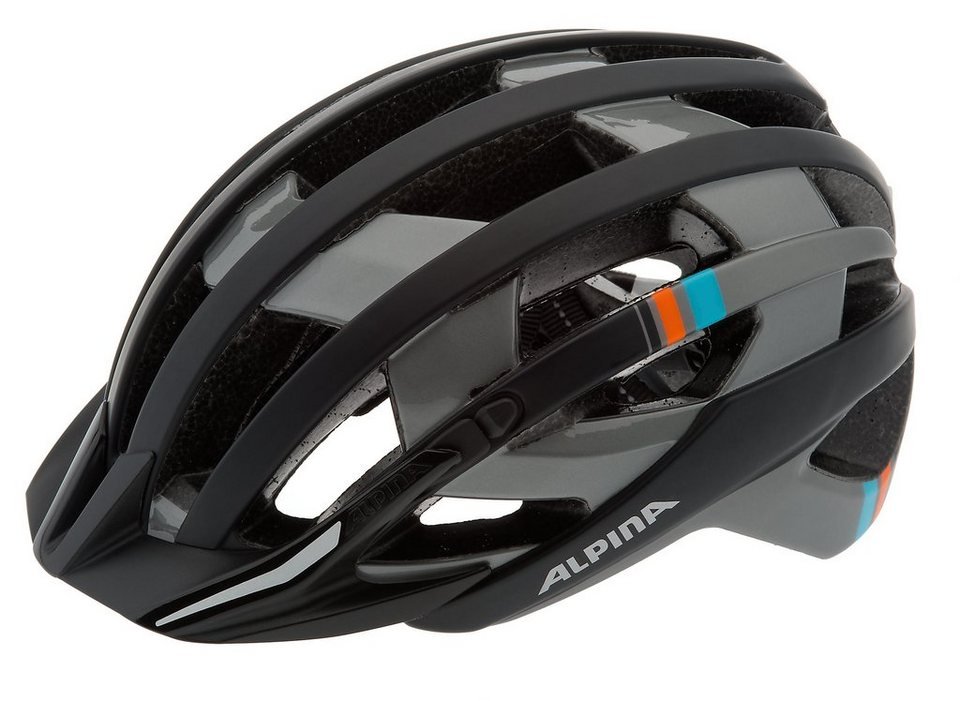 Alpina Fahrradhelm »e-Helm Deluxe Helm« in schwarz