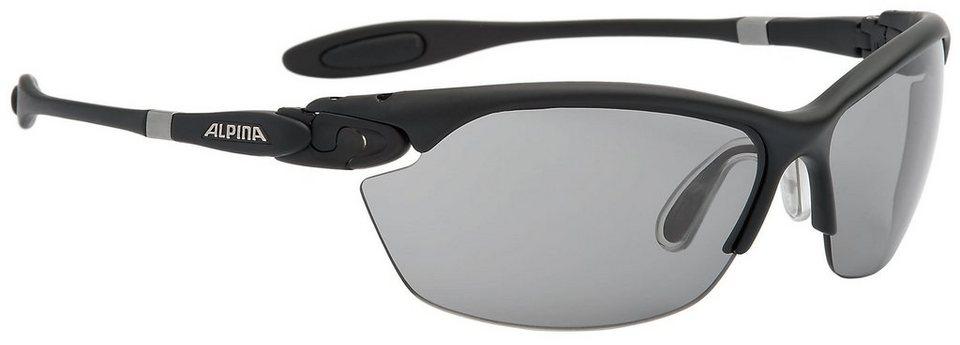 Alpina Radsportbrille »Twist Three 2.0 VL Brille« in schwarz