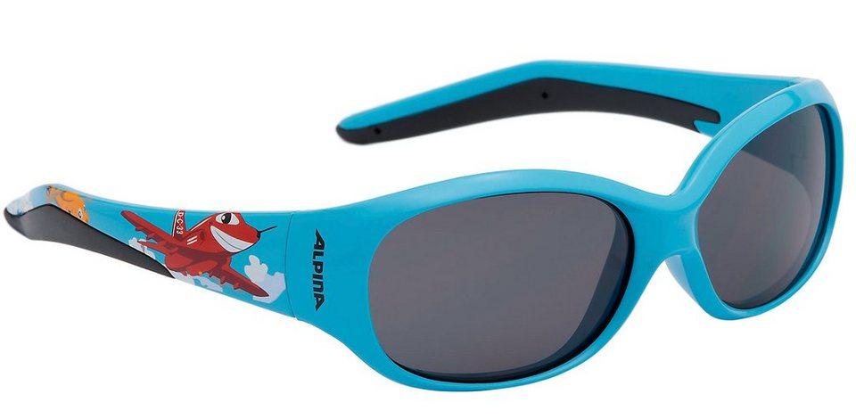Alpina Radsportbrille »Flexxy Kids Brille« in blau