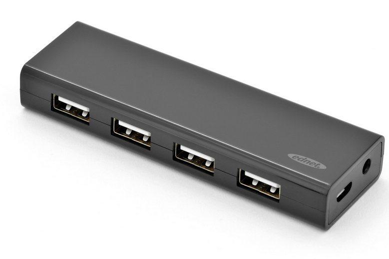 Ednet USB »USB 2.0 HUB 4-PORT«