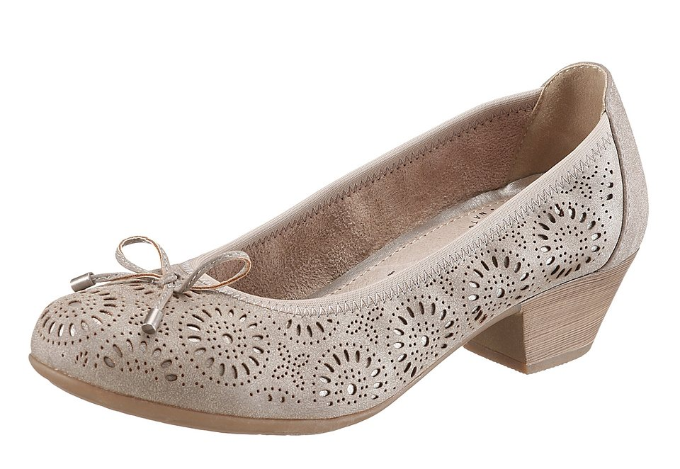 Hush Puppies Pumps in taupe