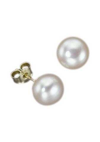 Adriana Paar Ohrstecker »La mia perla, O80SWB-14M/Ba«