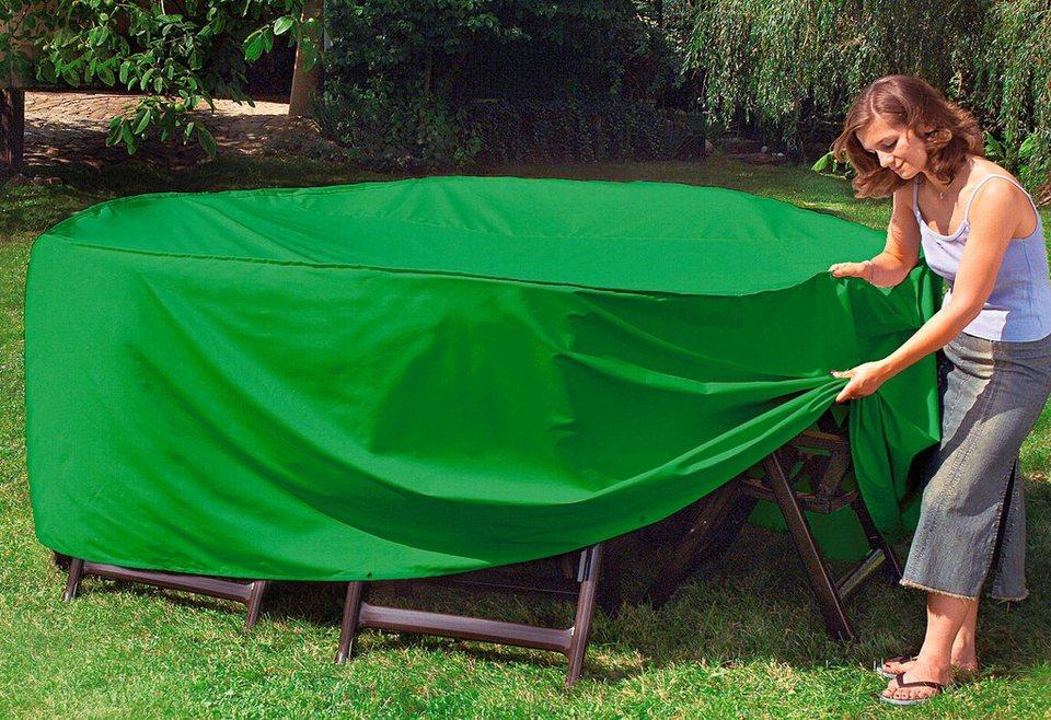 Sitzgruppenschutzhülle in grün