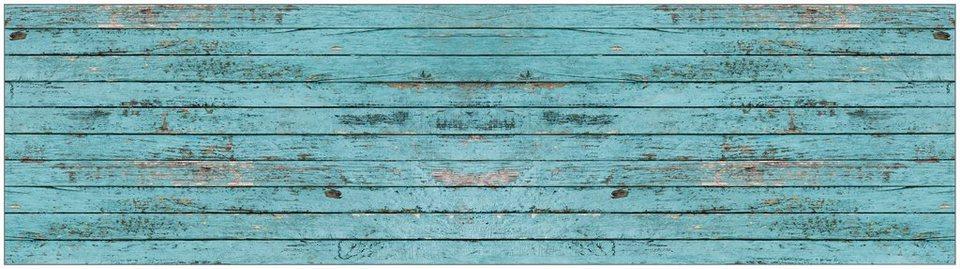 Küchenrückwand - Spritzschutz »profix«, Ernest Holz, 220x60 cm in blau