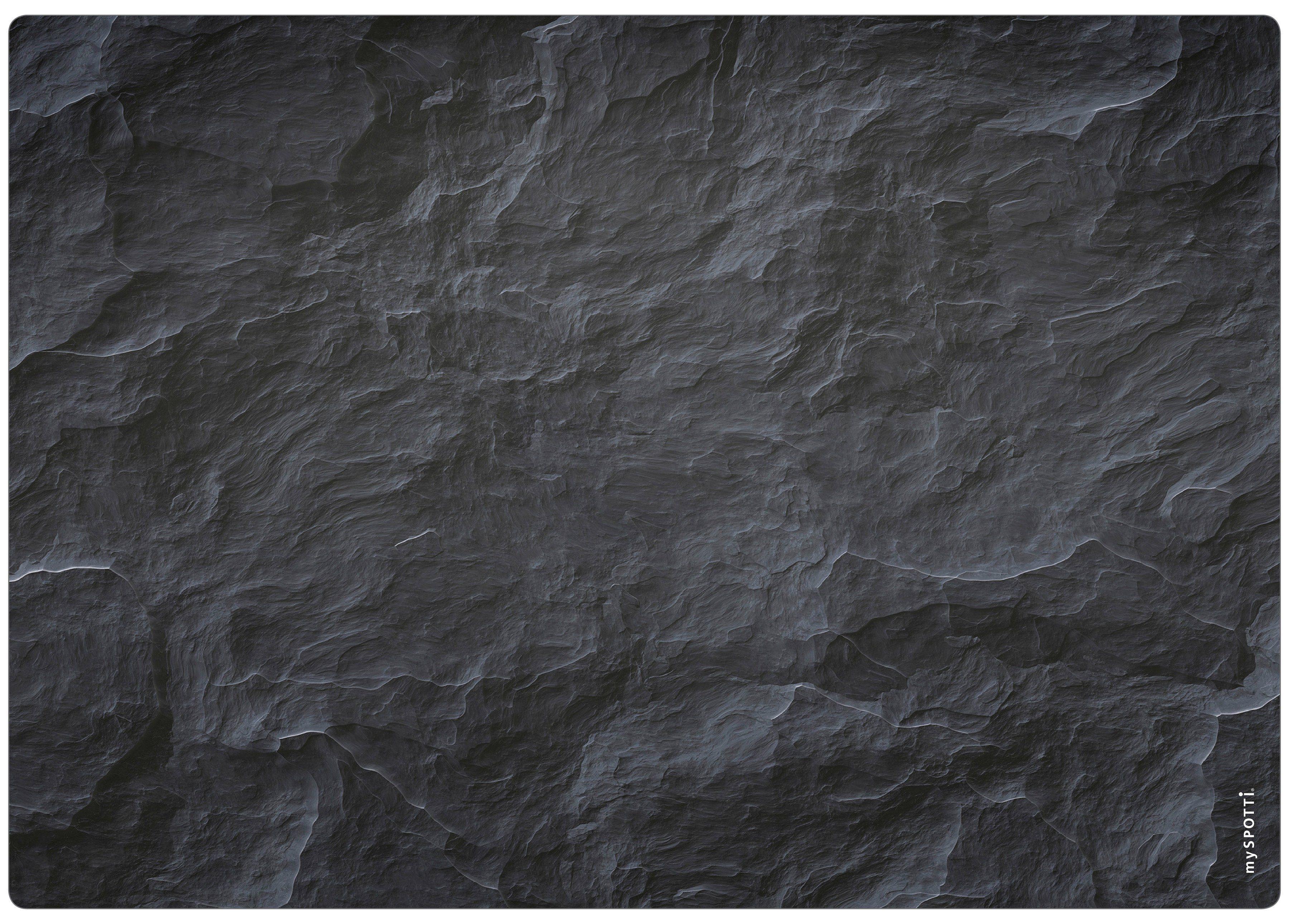 Spritzschutz »pop«, Schiefer, 59x41 cm