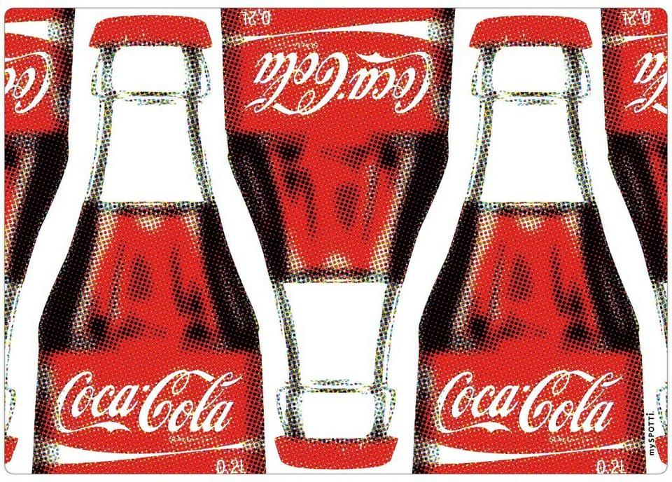 Spritzschutz »pop«, Coca Cola, 59x41 cm in rot