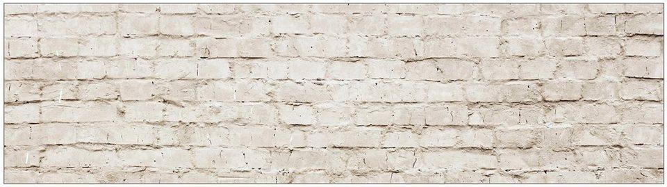 Küchenrückwand - Spritzschutz »profix«, Mauerwerk, 220x60 cm in natur
