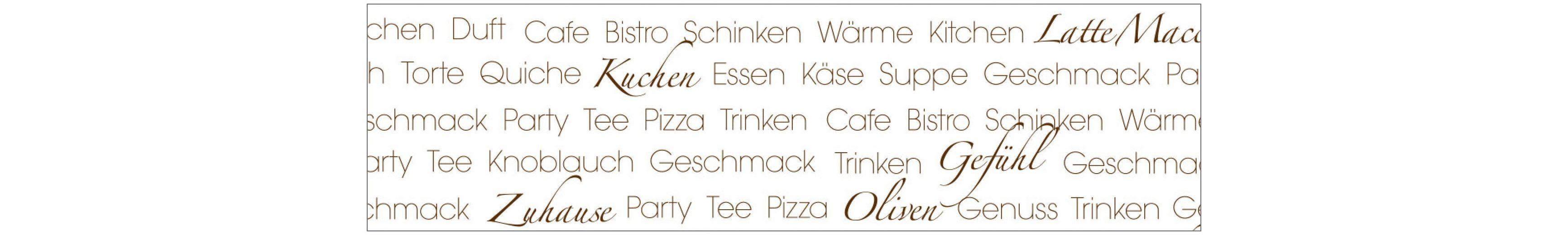Küchenrückwand - Spritzschutz »profix«, soul food, 220x60 cm