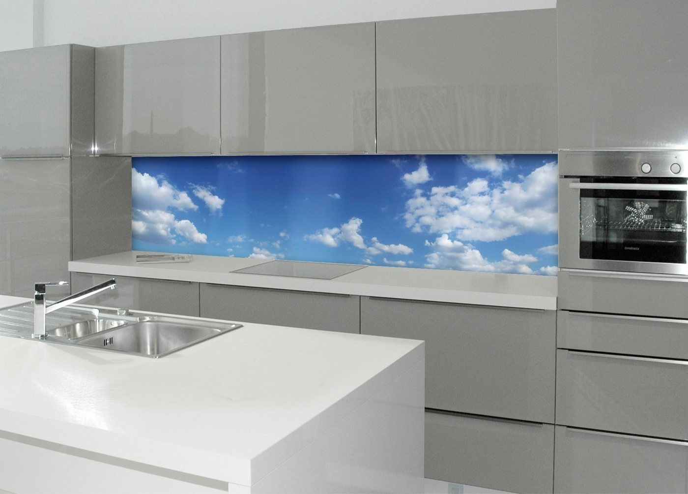 Küchenrückwand - Spritzschutz »profix«, Himmel, 220x60 cm