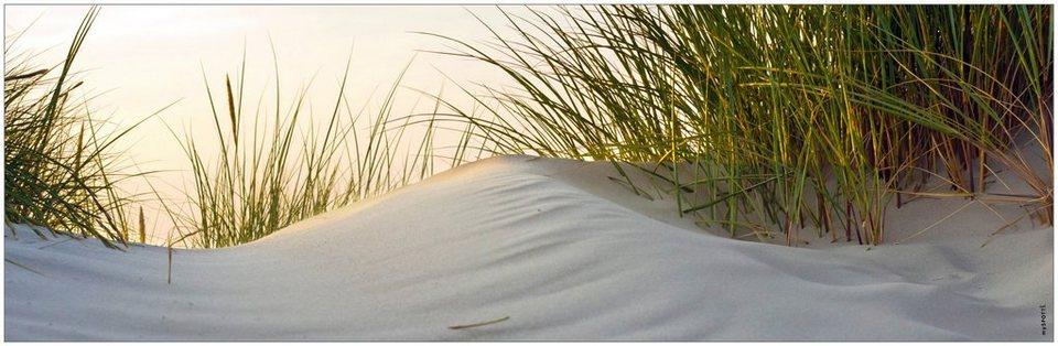 Badrückwand »aqua«, Dune, in 3 Breiten in bunt