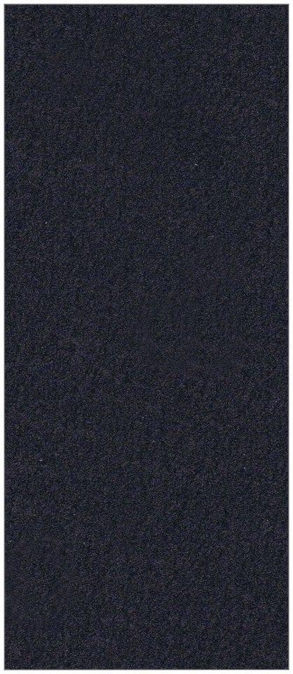 Badrückwand »shower«, Struktur schwarz, in 2 Breiten in schwarz