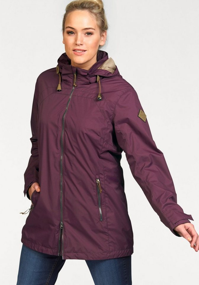 G.I.G.A. DX Funktionsjacke »KANOMA« in bordeaux