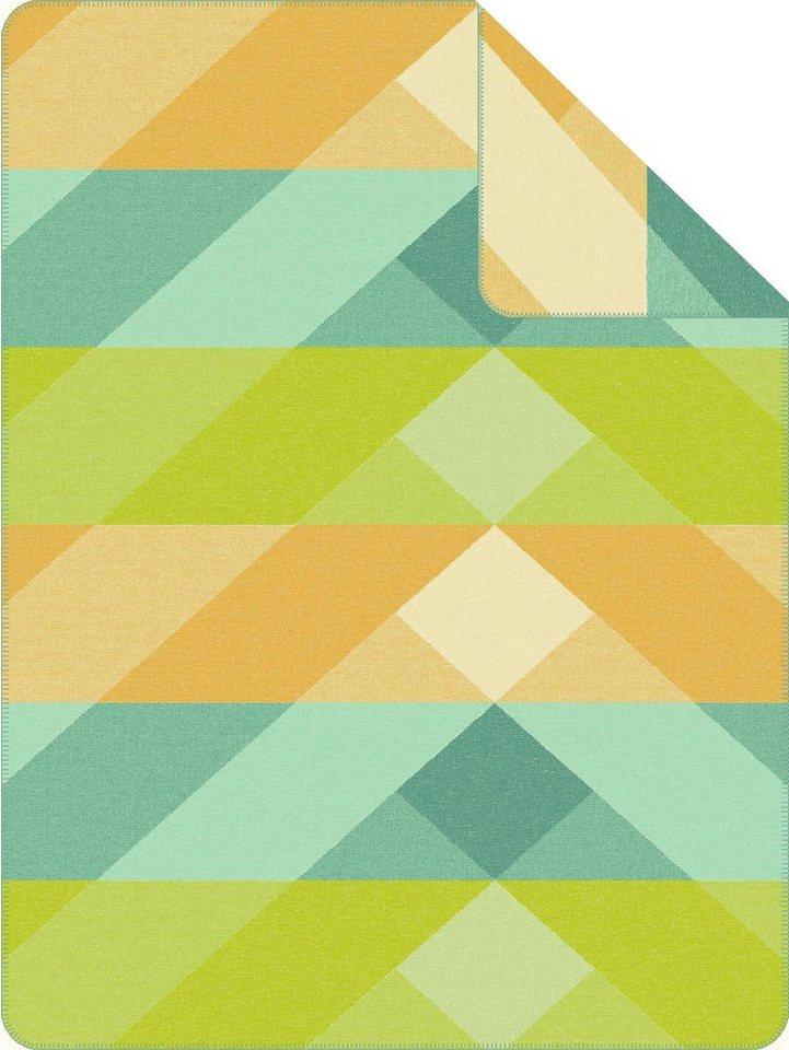 Wohndecke, Ibena, »Riddi«, mit diagonalen Balken in multi