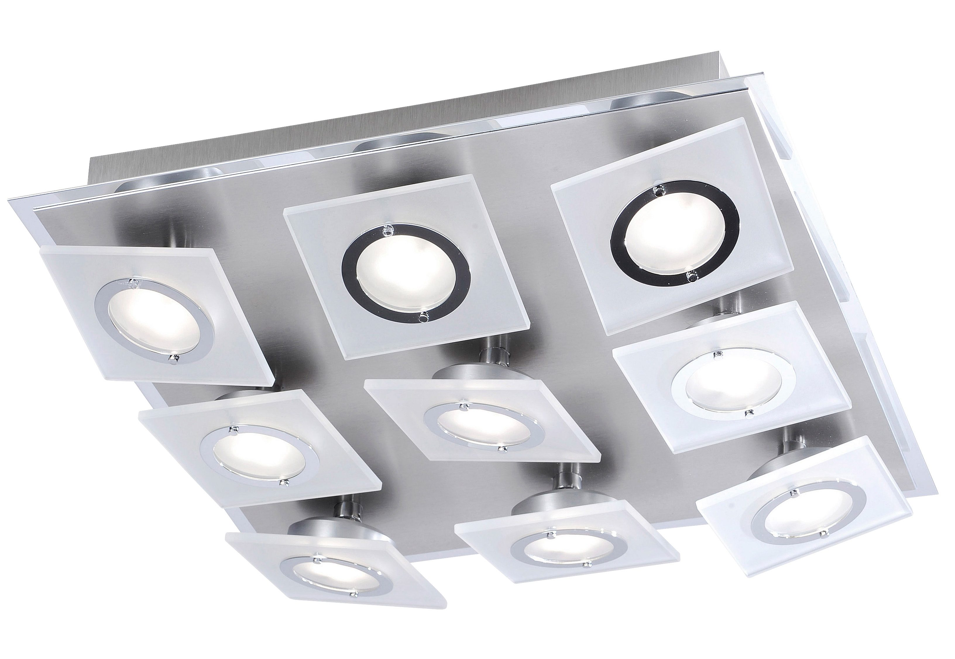 Paul Neuhaus LED-Deckenleuchte, 9flg., »ROTATOR«