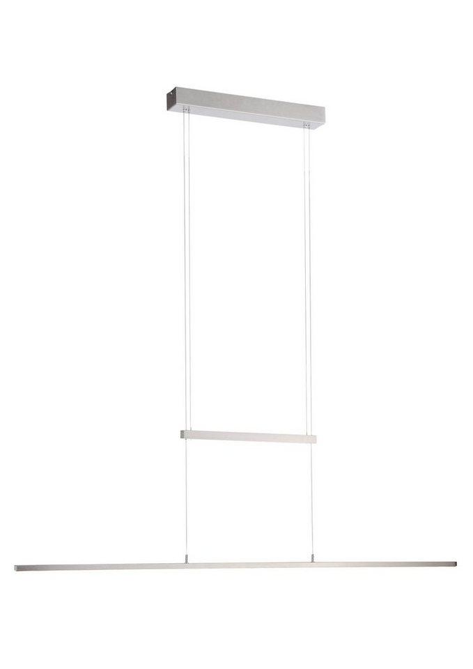 Paul Neuhaus LED-Pendelleuchte, 1flg., »INIGO« in Metall, chromfarben