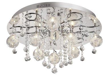 Paul Neuhaus LED Deckenleuchte »KALLISTO«, mit Kristallanhängern
