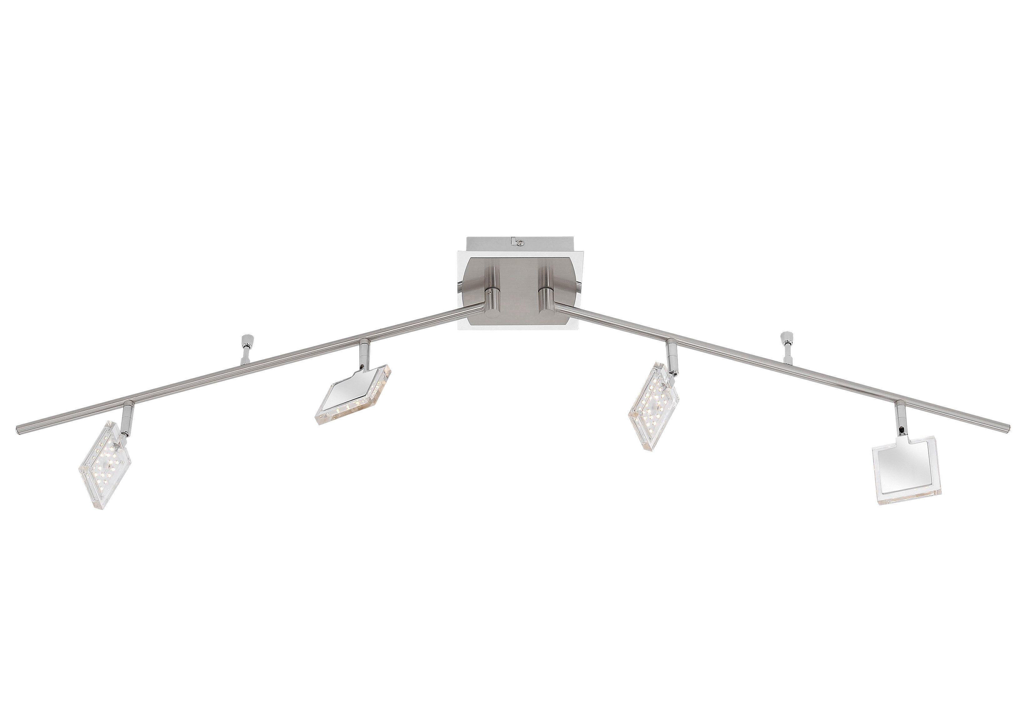 Paul Neuhaus LED-Deckenleuchte, 4flg., »DAAN«
