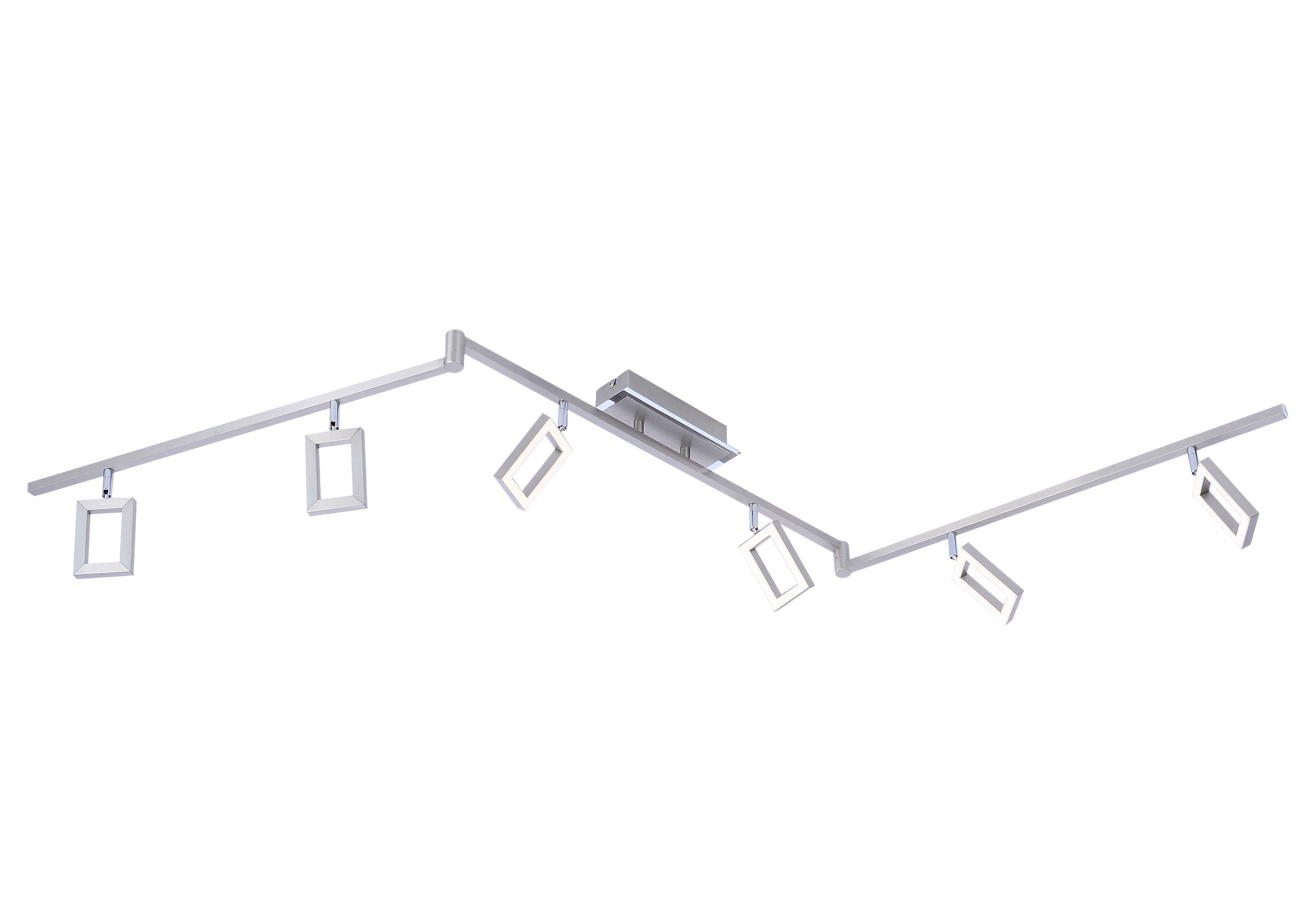 Paul Neuhaus LED-Deckenleuchte, 6flg., »INIGO«
