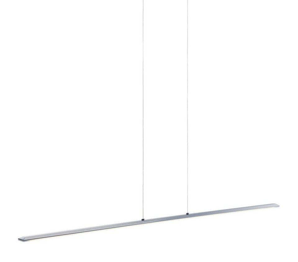 Paul Neuhaus LED-Pendelleuchte, 2flg., »PERDITA« in Metall, stahlfarben