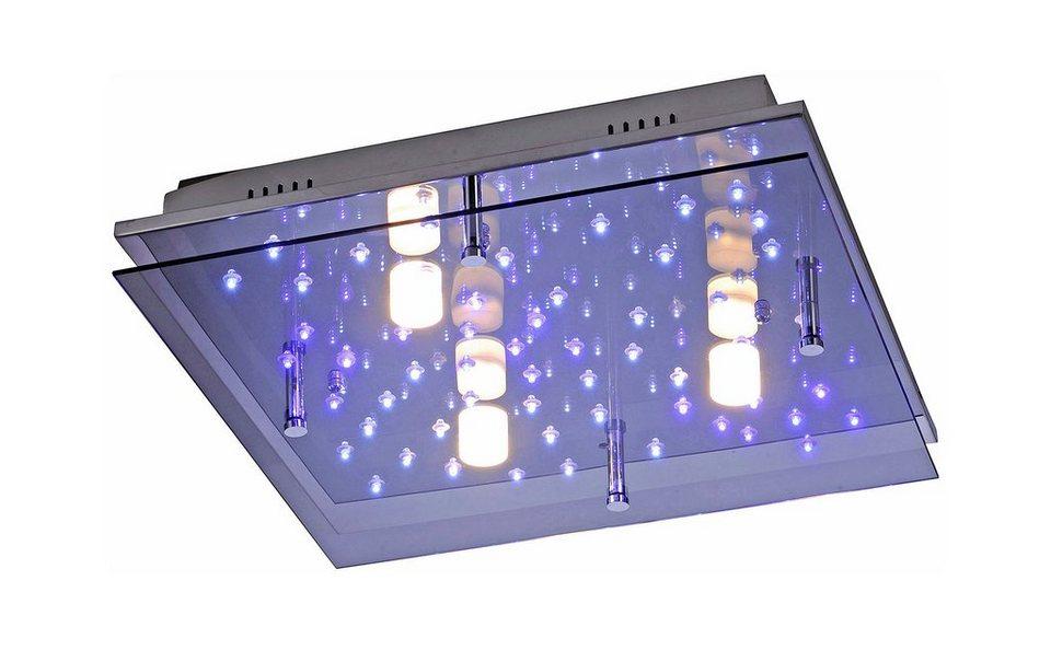 Paul Neuhaus LED-Deckenleuchte, »NIGHTSKY 2« in Metall, chromfarben