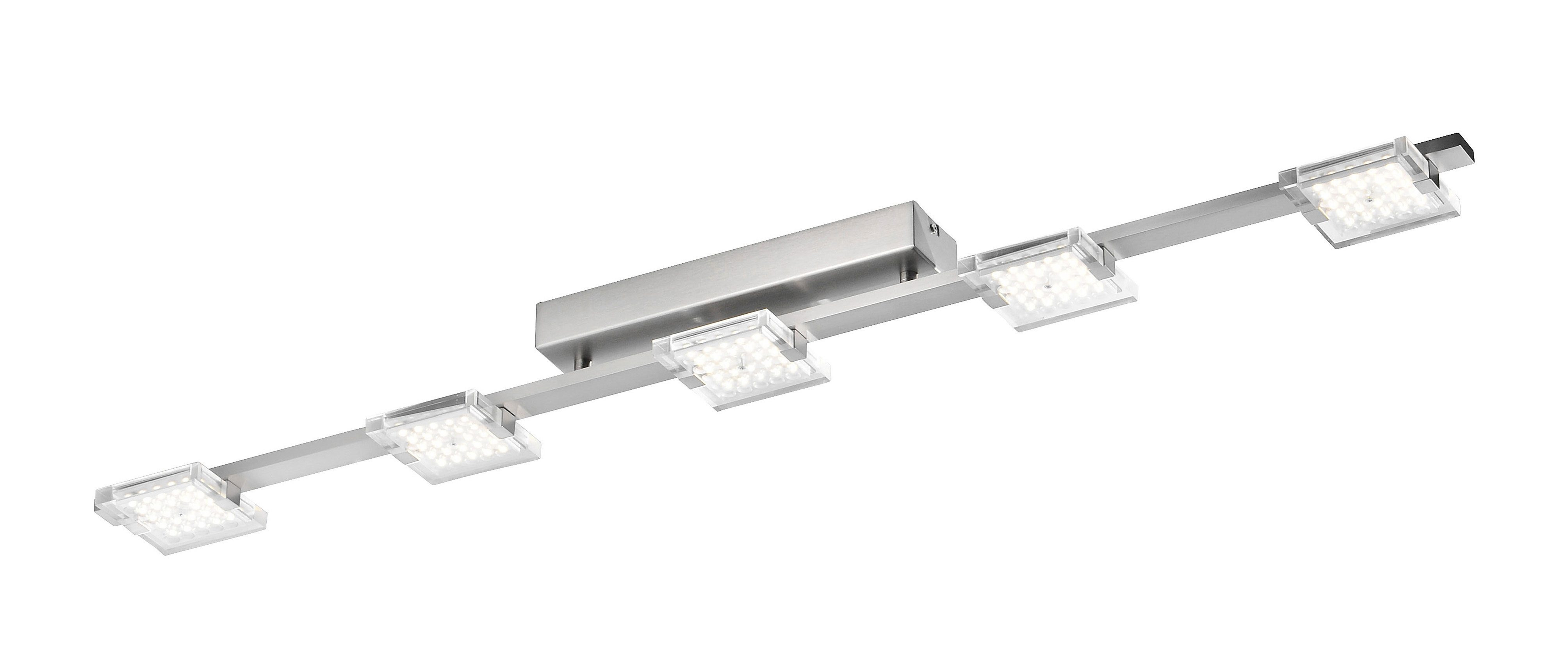 Paul Neuhaus LED-Deckenleuchte, 5flg., »FUTURA«