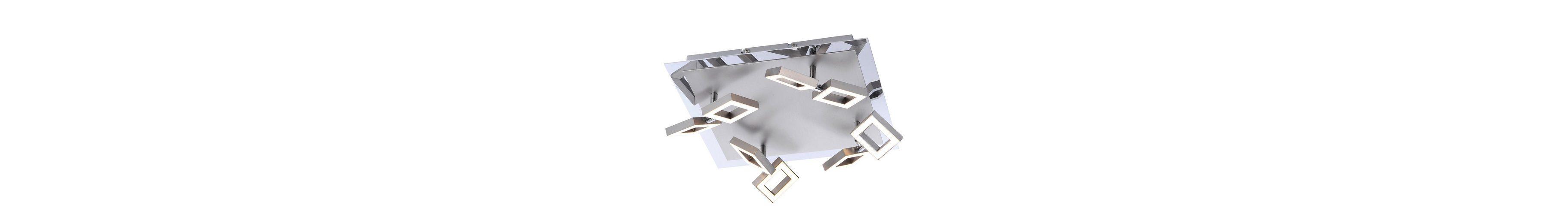 Paul Neuhaus LED-Deckenleuchte, 8flg., »TWINS«