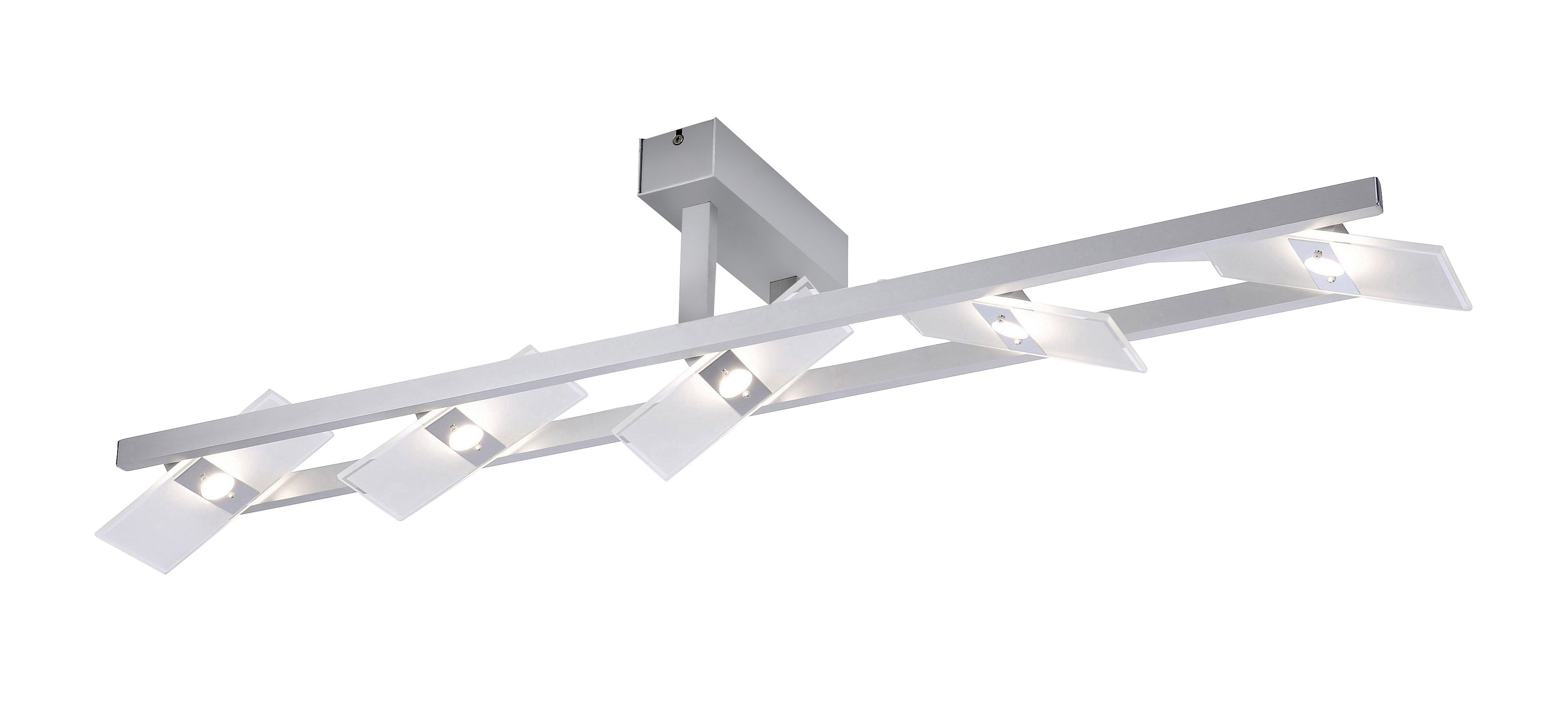 Paul Neuhaus LED-Deckenleuchte, 5flg., »PUKKA«
