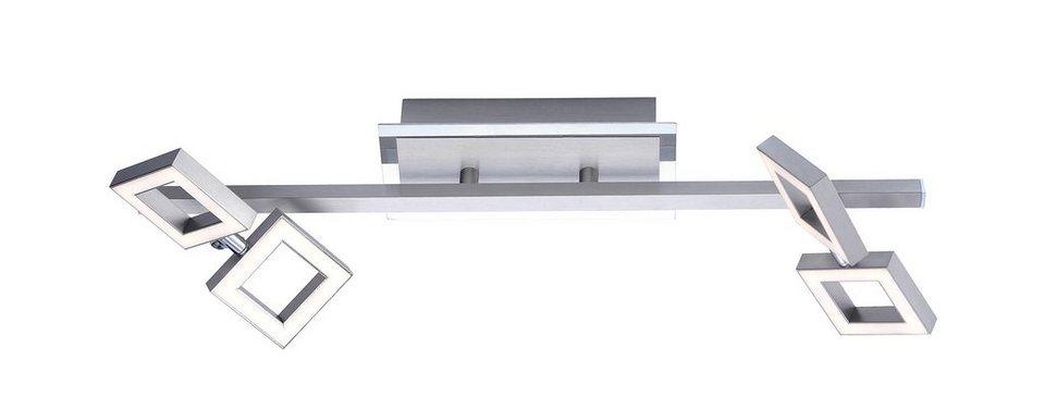Paul Neuhaus LED-Deckenleuchte, 4flg., »TWINS« in Metall