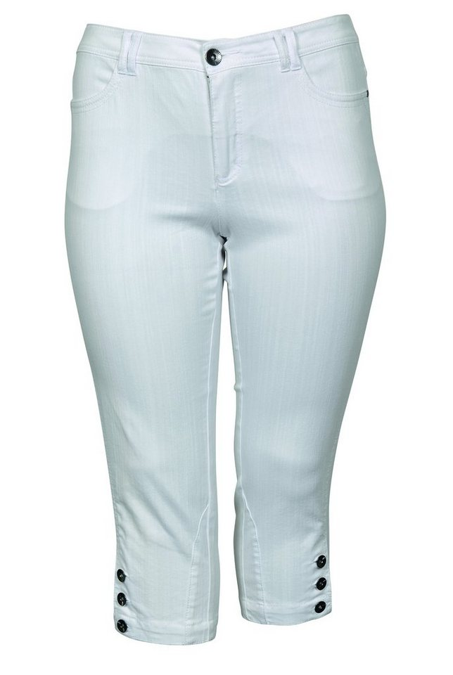 Ciso Caprihose in weiß