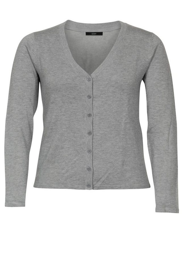 Ciso Cardigan in grau