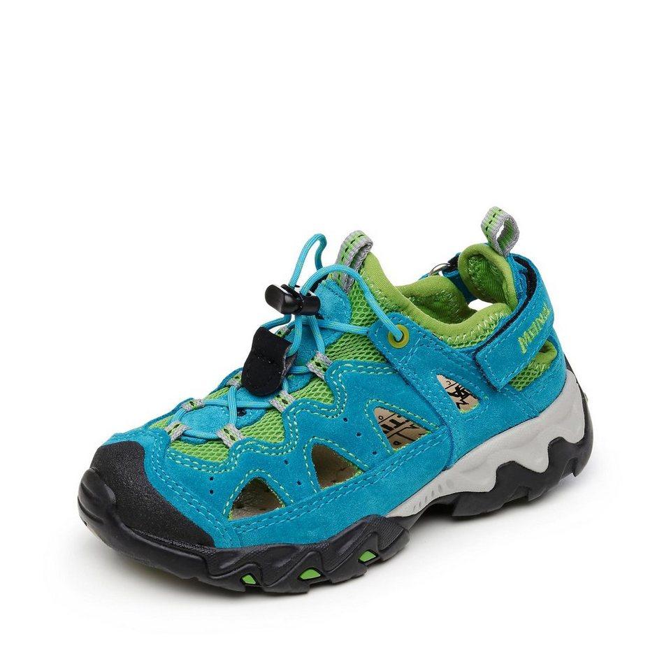 Meindl Sandale in blau/grün