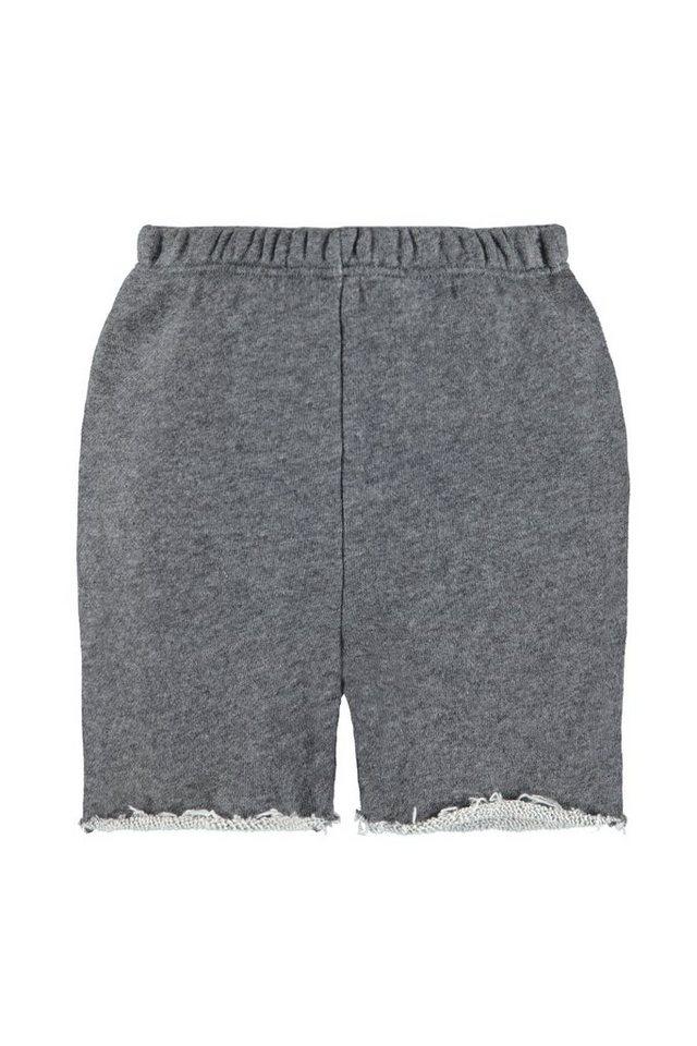 BELLYBUTTON Shorts für Babies in dark grey melange