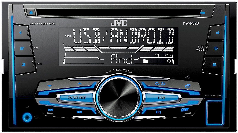 JVC 2-DIN Autoradio »KW-R520«
